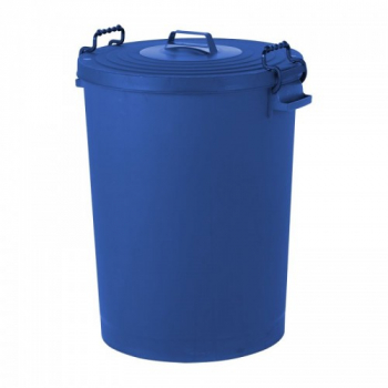 Colour Coded Dustbin with lid 110 litre