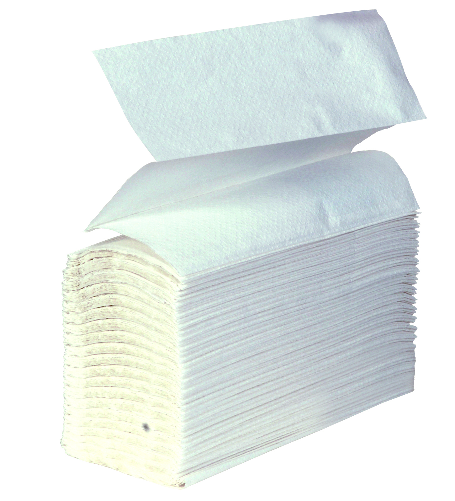 Z-fold White Hand Towels 1ply