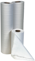 20inch 2ply White Embossed Hygiene Rolls 9 x 56m