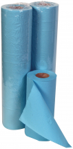 10inch 2ply Blue Embossed Hygiene Rolls 22gsm - (18x46m)