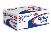 Jangro Kitchen Towels White 2ply