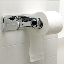 Double Lockable Standard Toilet Roll Dispenser