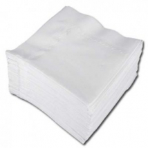 Linstyle Napkins 40cm - White Pack of 50