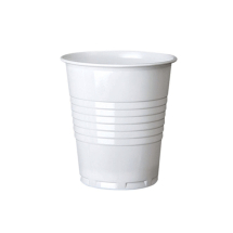 Drinking Cup 7oz Squat White CTNx2000