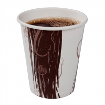 Single Wall Coffee Bean Cup, 8-9oz/25cl CTN x 1000