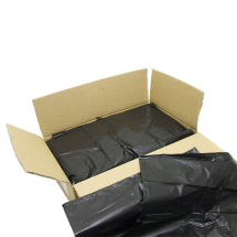 Black Refuse Sacks 18x29x39inch - Heavy Duty 160gauge CTNx200