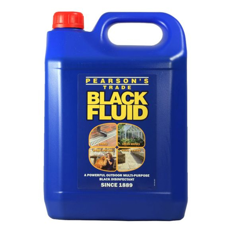 Black Fluid Strong Disinfectant 5Litre