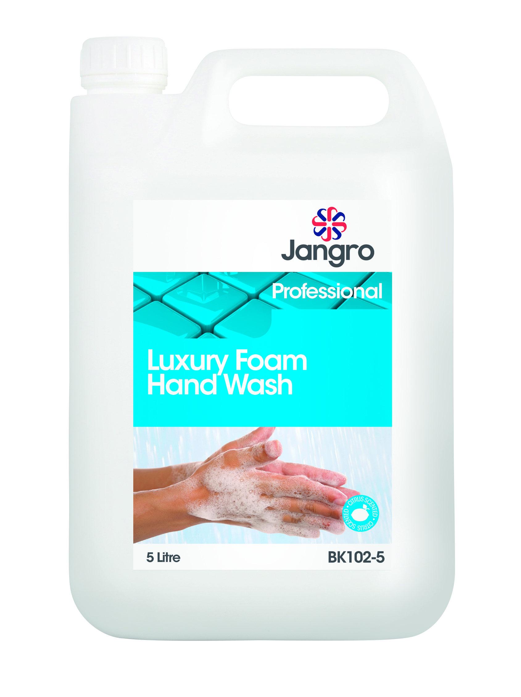 Jangro Luxury Foam Hand Wash 5 Litre