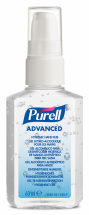 Purell Advanced Hygienic Hand Rub 60ml Pump Bottle