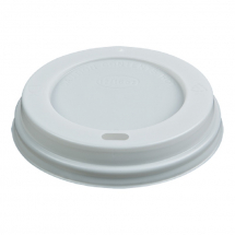 Compostable White Sip - Tru Lid 12oz CTNx1000
