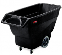 Rubbermaid Tilt Truck Black