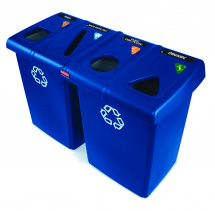 Glutton Recycle Bin Blue