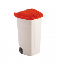 Lid for Mobile Wheelie Waste Container Red