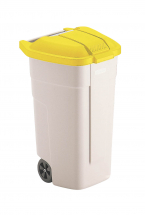 Lid for Mobile Wheelie Waste Container Yellow
