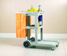 Cheapie Chappie Janitorial Cart Complete with bag