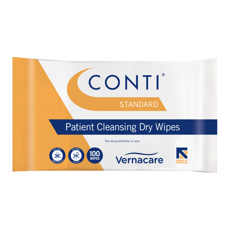 Conti Lite Patient Clensing Wipes Pack of 100sh