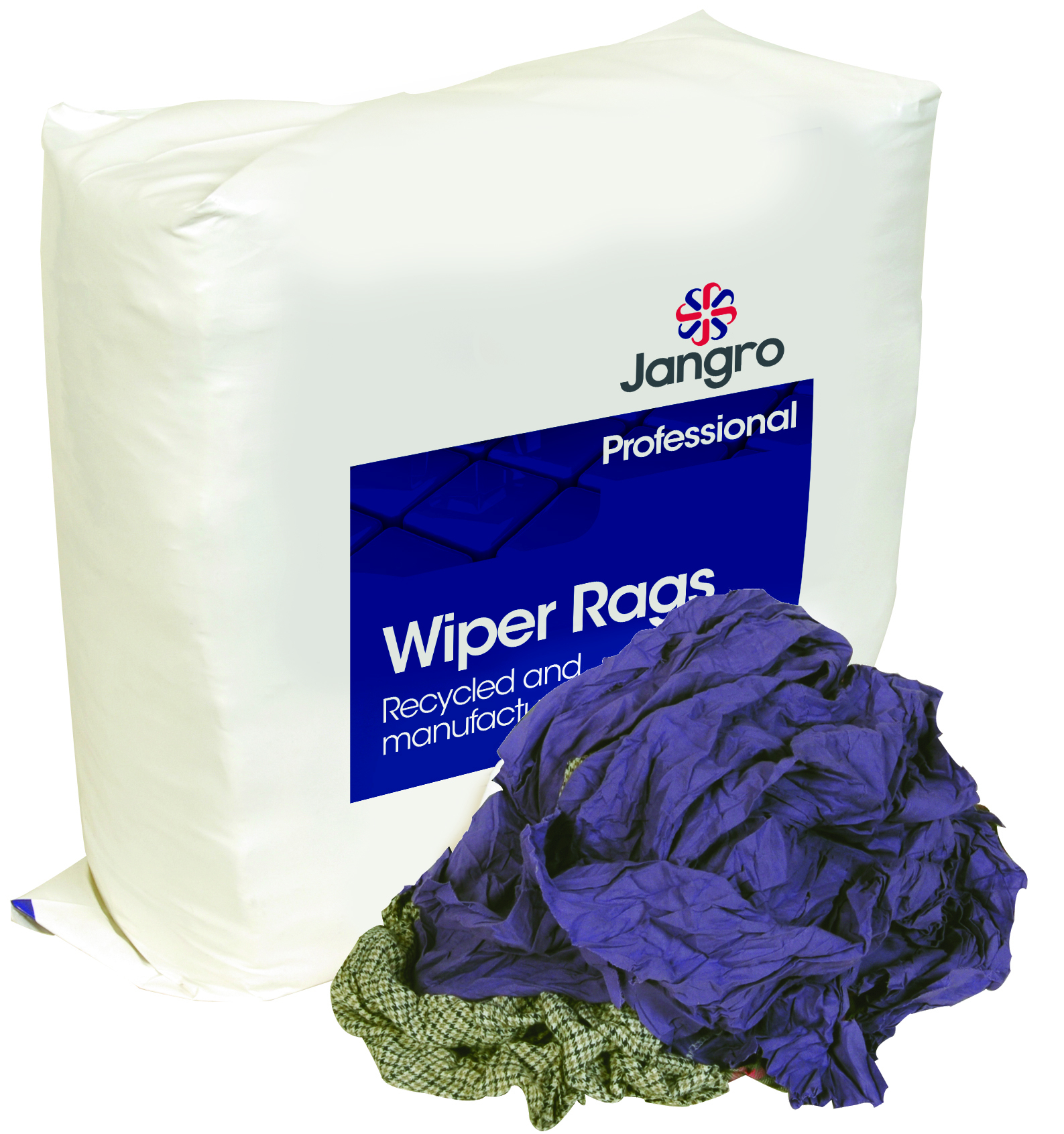 Jangro Yellow Label Wipers 10Kg