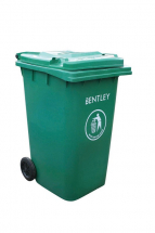 Heavy Duty Wheelie Bin - Green 240lt