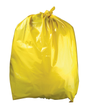 Refuse Sacks Yellow 18inch x 29inch x 39inch heavy Duty