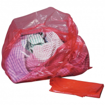 Red Soluble Laundry Strip Bags 16mu CTNx200