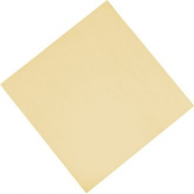 Decosoft Textured Napkin - Cream Pack of 50