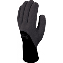 Arctic Winter Glove Nitrile Sandy Black Size 9/L