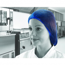 Blue Hair-nets Flat Pack Pack of 144