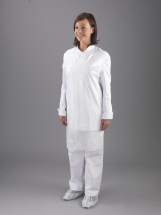 Disposable Aprons 69cmx102cm Flat Packed White 8mu CTNx100