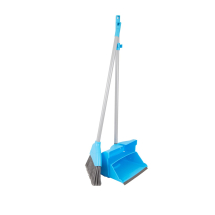 Lightweight Lobby Dustpan & Brush Blue