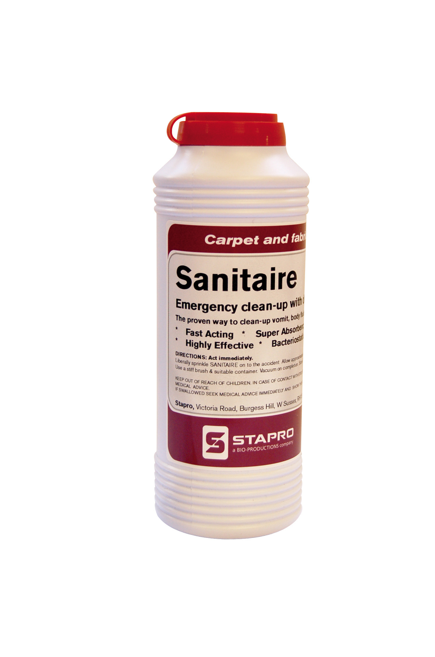 240g Sanitaire Emergency Clean-up Powder