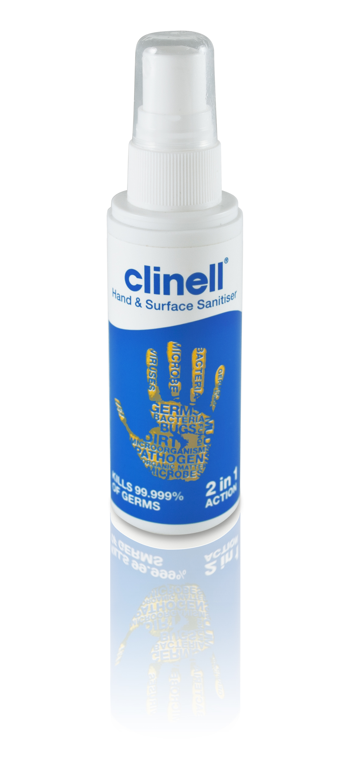 Clinell Hand & Surface Spray - 60ml