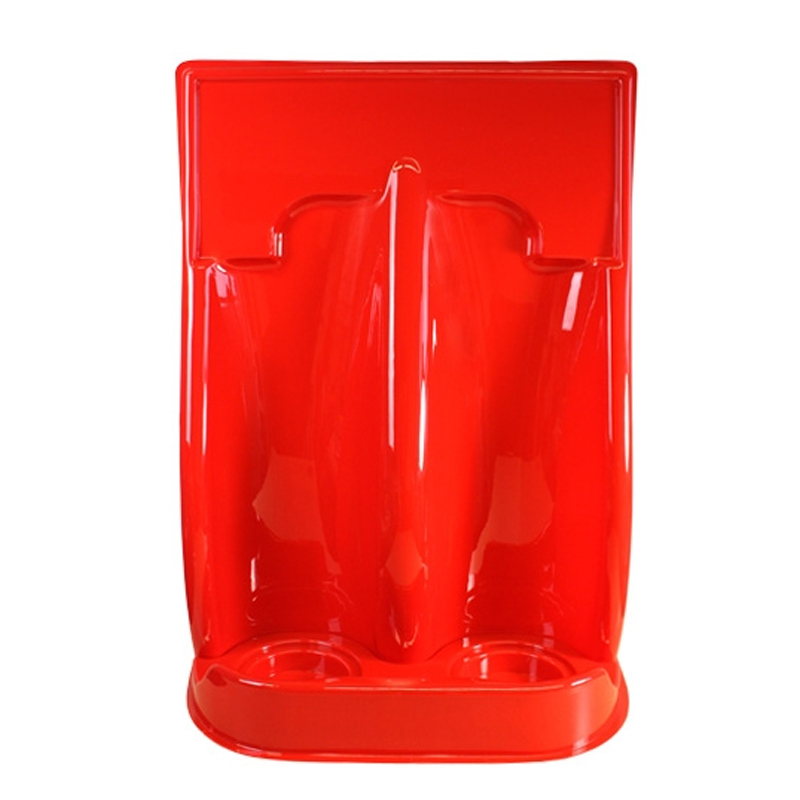 Fire Extinguisher Stand Double Heavy Duty
