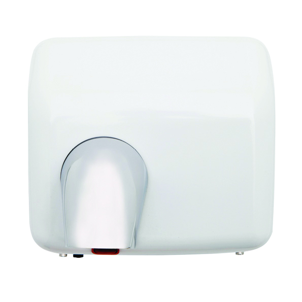 Hand Dryer 2300 Watts, White Metal