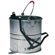 Roller Galvanised Mop Bucket
