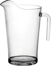 Polycarbonate Glassware 4 Pint Jug CE @ 2,3,4 Pint