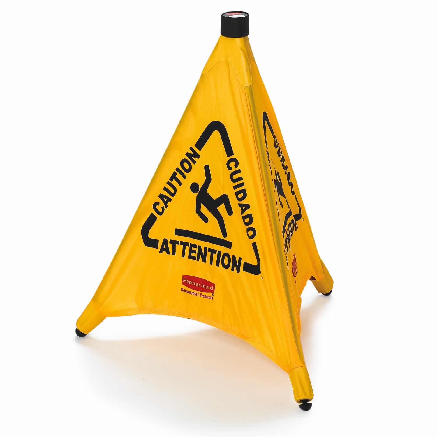 Pop-Up Cone 76 cm - Multilingual Caution Symbol