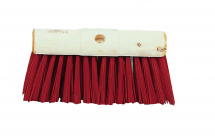 Yard Broom 13inch Red PVC