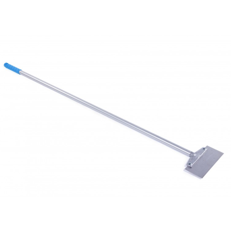 Hygiene Long handled floor scrapers with St/St blade 1300mm aluminium handle