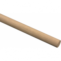 Thick 4ft Broom Handle 1.125inch