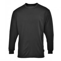 Thermal Base Layer Top Black Medium