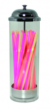 Acrylic Straw Dispenser 10inch