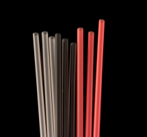 Collins Straw 8inch Black Pack of 1000
